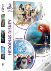 Pack Heroínas Disney (3 Discos) (DVD-Vídeo)