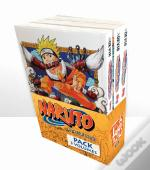 Pack Naruto - Volumes 1, 2 e 3