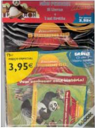 Pack Panda do Kung Fu - 2 Livros + Cd