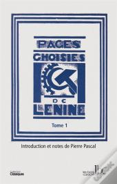 Pages Choisies T01