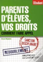 Parents D'Eleves  Vos Droits