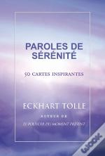 Paroles De Sérénité ; 50 Cartes Inspirantes