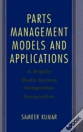 Parts Management Models And Applications