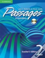 Passages Teacher'S Edition 2 With Audio Cd
