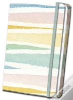Pastel Striped Linen Journal