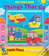 Peg Puzzle Book - Things That Go
