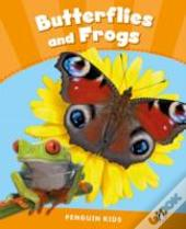 Penguin Kids 3 Butterflies And Frogs Reader Clil
