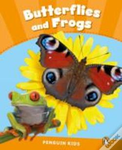 Wook.pt - Penguin Kids 3 Butterflies And Frogs Reader Clil