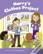 Penguin Kids 5 Harry'S Clothes Project Reader Clil Ame