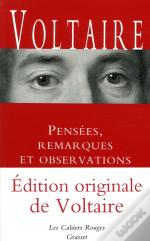 Pensees, Remarques Et Observations - Inedit