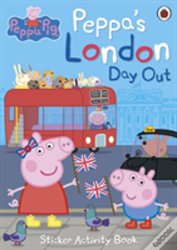Wook.pt - Peppa'S London Day Out Sticker Activity Book