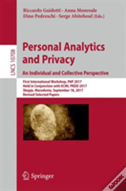 Wook.pt - Personal Analytics And Privacy: An Individual And Collective Perspective