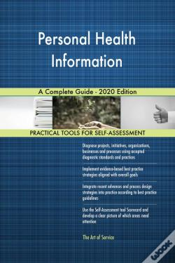 Wook.pt - Personal Health Information A Complete Guide - 2020 Edition