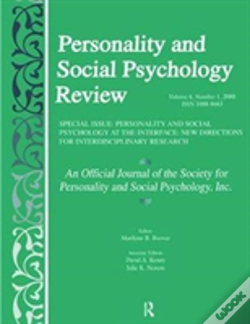 Wook.pt - Personality And Social Psychology At The Interface