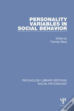 Wook.pt - Personality Variables In Social Behavior