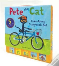 Wook.pt - Pete The Cat Take-Along Storybook Set