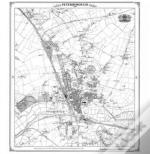 Peterborough 1885 Heritage Cartography Victorian Town Map