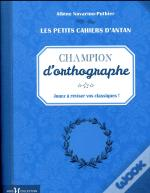 Petit Cahier 'Champion D'Orthographe'