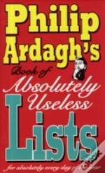 Philip Ardaghs/Useless Lists Signed Copy