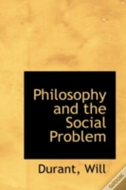 Wook.pt - Philosophy And The Social Problem