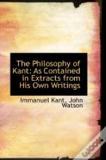 Philosophy Of Kant