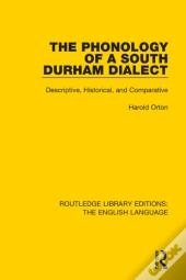 Phonology Of A South Durham Dialect