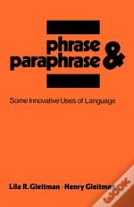 Phrase And Paraphrase