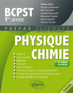 Wook.pt - Physique Chimie Bcpst-1 2eme Edition Actualisee