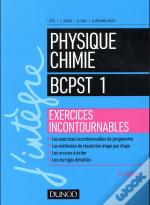 Physique-Chimie Bcpst 1re Année ; Exercices Incontournables