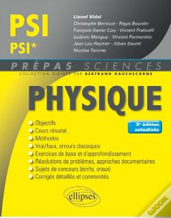 Wook.pt - Physique Psi/Psi* 3eme Edition Actualisee