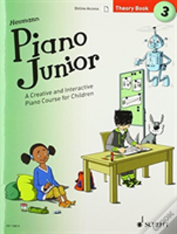 Wook.pt - Piano Junior Theory Book 3 Vol 3