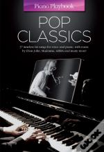Piano Playbook Pop Classics (Pvg)