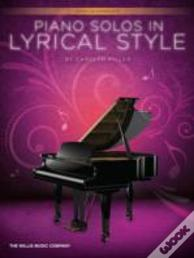 Piano Solos In Lyrical Style