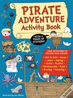 Wook.pt - Pirate Adventure Activity Book