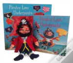 Pirates Love Underpants Book & Plush