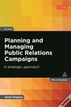 Wook.pt - Planning And Managing Public Relations Campaigns
