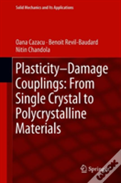 Plasticity-Damage Couplings: From Single Crystal To Polycrystalline Materials