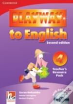 Playway To English Level 4 Teacher'S Resource Pack With Audio Cd