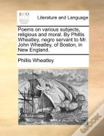 Poems On Various Subjects, Religious And