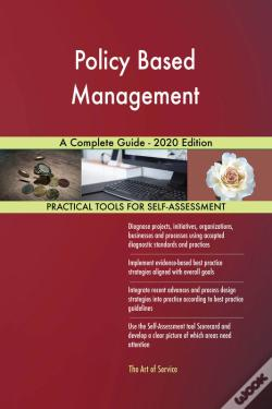 Wook.pt - Policy Based Management A Complete Guide - 2020 Edition