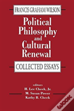 Political Philosophy And Cultural R