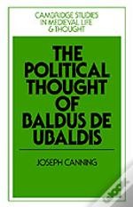 Political Thought Of Baldus De Ubaldis