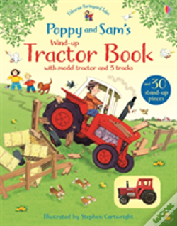 Wook.pt - Poppy And Sam'S Wind-Up Tractor Book