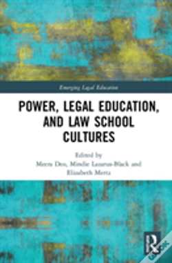 Wook.pt - Power, Legal Education, And Law School Cultures