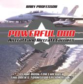 Powerful Duo: Aircraft And Aircraft Carriers - Plane Book For Children | Children'S Transportation Books