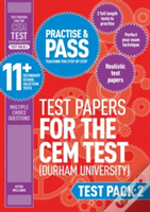 Practise And Pass 11+ Cem Test Papers - Test Pack 2