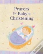 Prayers For Baby'S Christening