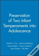Preservation Of Two Infant Temperaments Into Adolescence