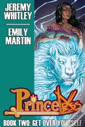 Princeless Book 2: Get Over Yourself Deluxe Hardcover  #Hc