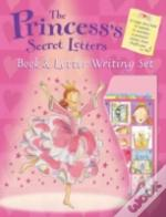PRINCESS'S SECRET LETTERSBOOK & LETTER WRITING SET